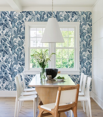 Into the blue Wallpaper Ideas To Create Life In Spring Sensation House This Season
