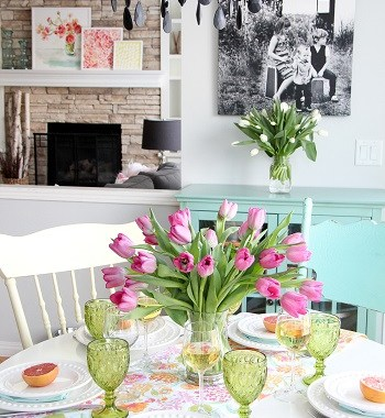 Modern rustic home decor to welcome spring with warm touches 3