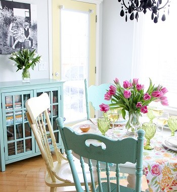 Modern rustic home decor to welcome spring with warm touches 5