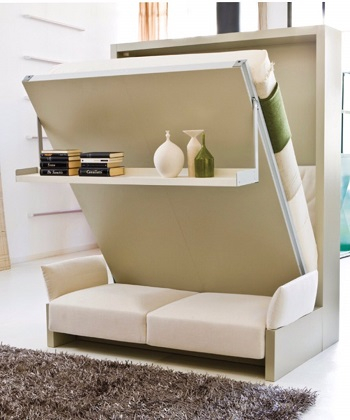 Nuovoliola 10 queen murphy bed Transformable Pieces As Smart Furniture To Make Your Living Feel Larger Than Life