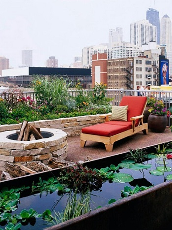 Rooftop gardening Turn Your Small Space Into A Large Garden Area With These Genius Space-Savvy Solutions