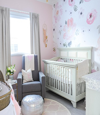 Soft and sweet Wallpaper Ideas To Create Life In Spring Sensation House This Season