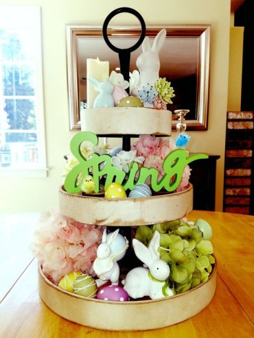 Spring-decor-tiered-tray-easter-decor