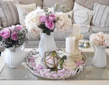 Spring tray decor ideas _ 2