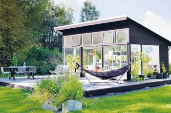 Unique orangery for listening to the rain or enjoy the nature during dinner 1
