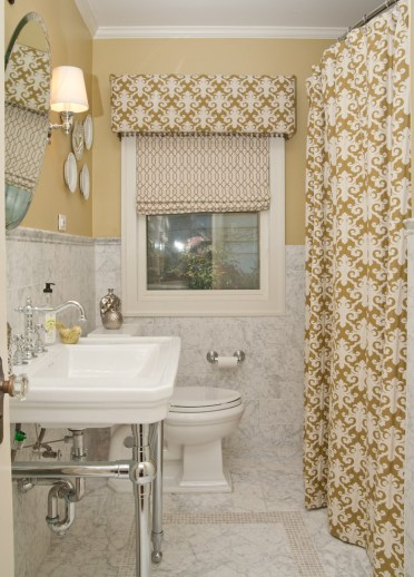 Washroom-makeover-roman-blinds-shower-curtain-chrome-faucet-hardware-better-decorating-bible-blog-easy-fast-quitck-ideas-traditional-bathroom-2