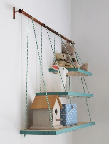 4-06-a-metal-holder-with-several-matching-shelves-that-are-different-in-size-will-add-texture-and-a-fun-color-touch-to-the-space
