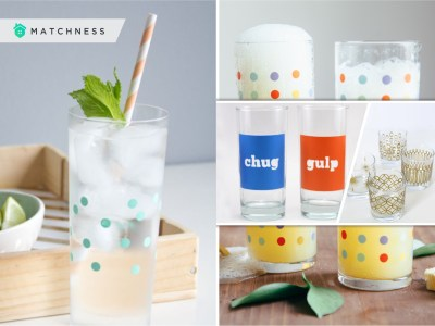 Diy colored creative ideas to update your glassware to the next level 2