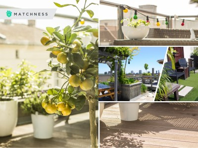 Dreamy modern rooftop garden ideas for urban life 5
