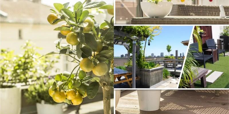 Dreamy modern rooftop garden ideas for urban life 5
