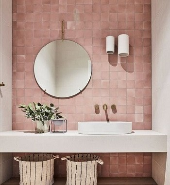 Featured pink Most Enchanting Minimalist Bathroom Design Ideas To Have