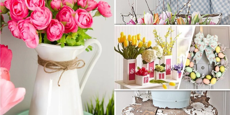 Have these 80 spring break diy projects for your home decoration 2