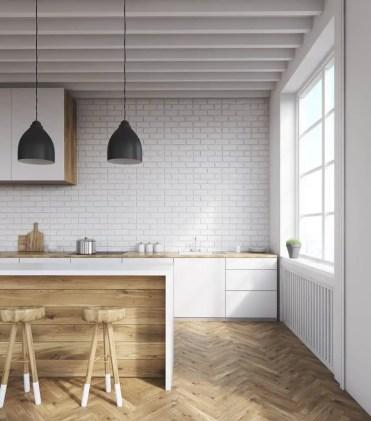 Parquet-flooring-modern-kitchen-ideas