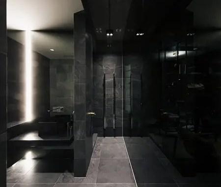 Picturesque apartment design with dark masculine interior 5