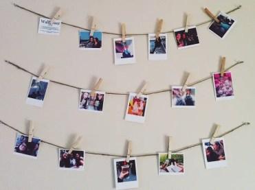 Polaroid-display-decor