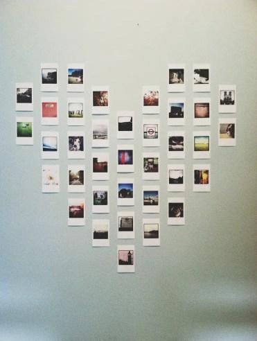 Polaroid-heart