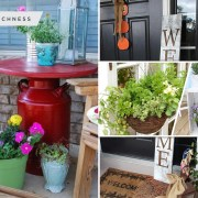 Pretty spring porch decor ideas below can help make your house shine as bright outside 2