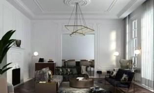 Sculptural lighting fixture