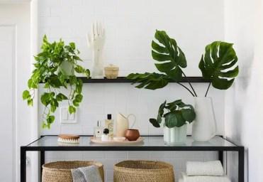 The-sill-faux-plants-bathroom