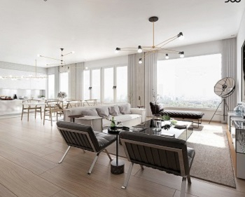 Ultra luxury apartment with high-end interiors to give you serenity time 2