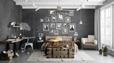 Grey-and-green-bedroom-interior-design-ideas-1