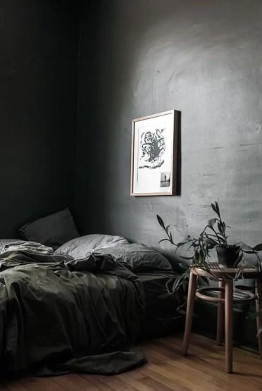 Grey-moody-bedroom-with-organic-decor