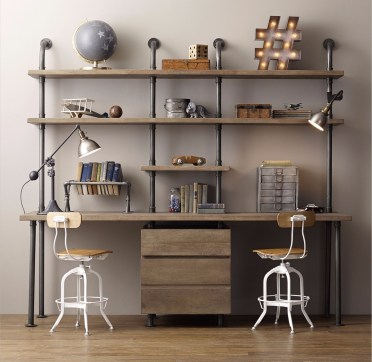 Industrial-home-office-design