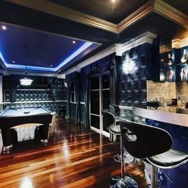 Navy-blue-decor-basement-man-cave