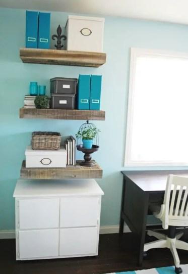 Reclaimed-wood-shelves