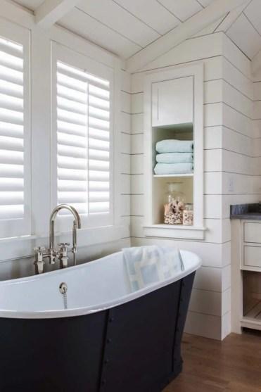 24 idee per riporre gli scaffali del bagno da incasso homebnc