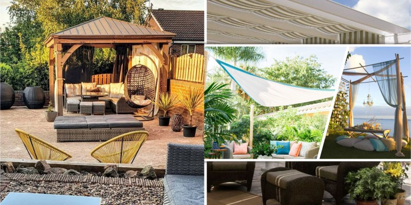 60 backyard patio and deck shade ideas 2