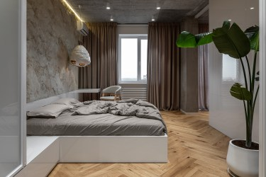 Apartment design for a young to share views of a home as a place of strength 5