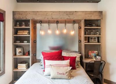 College student bedroom
