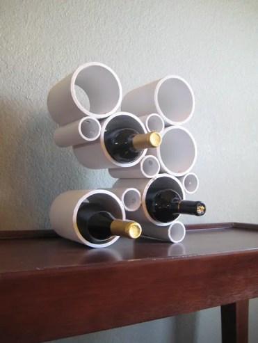 Diy-modern-pvc-pipe-wine-rack