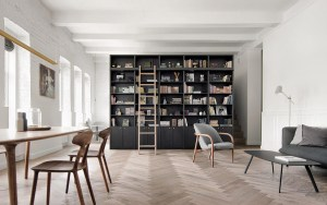 Splendido appartamento con interni eleganti che impressionano per l'equilibrio tra lavoro e vita privata 1