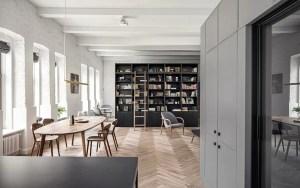 Splendido appartamento con interni eleganti che impressionano per l'equilibrio tra lavoro e vita privata 2