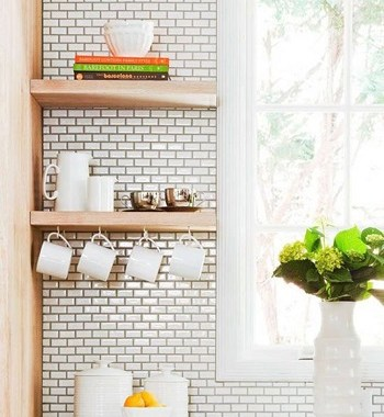 Best Choice Of Places To Put Floating Shelf In Your Kitchen