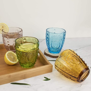 Special Collection Of Vintage Colored Glassware You Can Buy