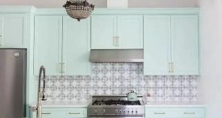 Mint glam kitchen