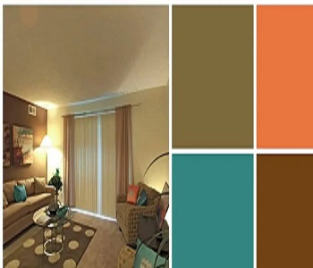 Selected Easy Breezy Earth Tone Palettes For Your Apartment