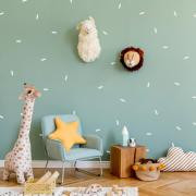 White-confetti-sprinkles-nursery-playroom-room