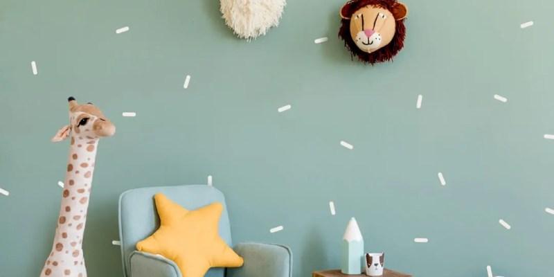 White-confetti-sprinkles-nursery-playroom-room