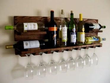 Wood-wine-rack