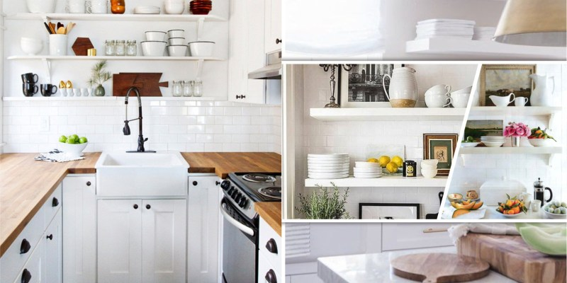 15 marvelous ideas for kitchen floating shelve in white color that you need to try immediately 5