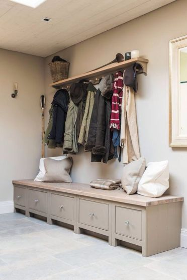 15-a-rustic-bench-with-a-top-of-reclaimed-wood-and-drawers-with-knobs-is-a-cool-idea-for-a-rustic-space