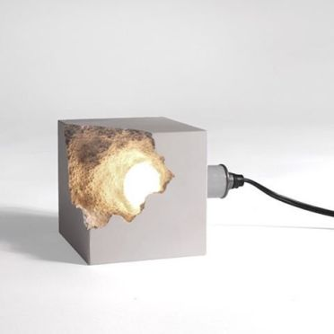 26-broken-concrete-cube-with-light-inside-is-a-chic-modern-idea