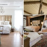Beautiful rustic contemporary bedroom ideas for a warm and homely sensation 2
