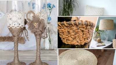 Bring the jute rope to complete your rustic home design 2