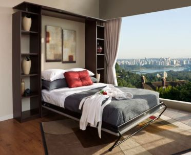 Chocolate-apple-murphy-bed-unit-as-gorgeous-as-the-view-outside