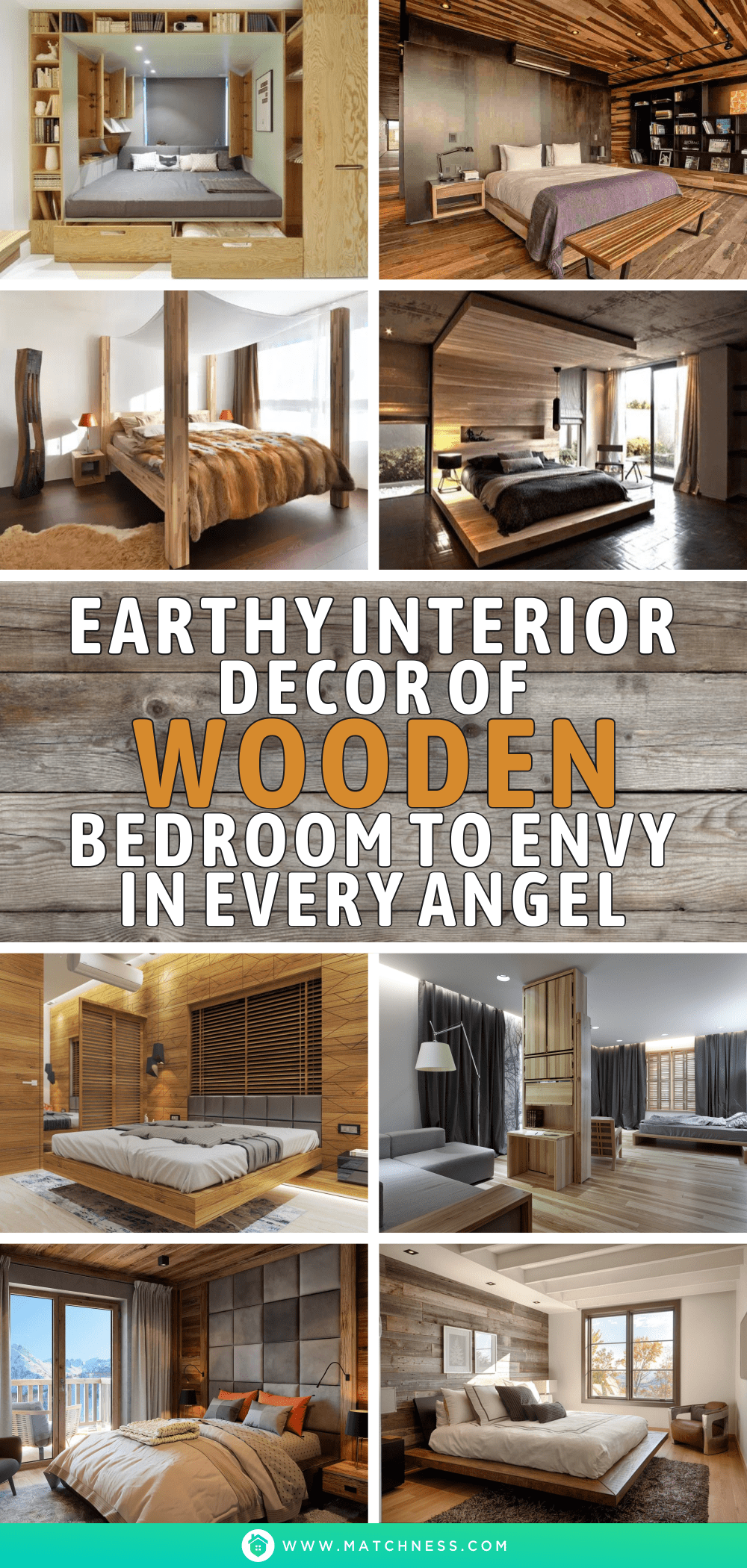 Earthy-interior-decor-of-wooden-bedroom-to-envy-in-every-angel-1
